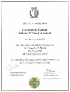 Certificate 002