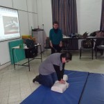Learning to administer CPR